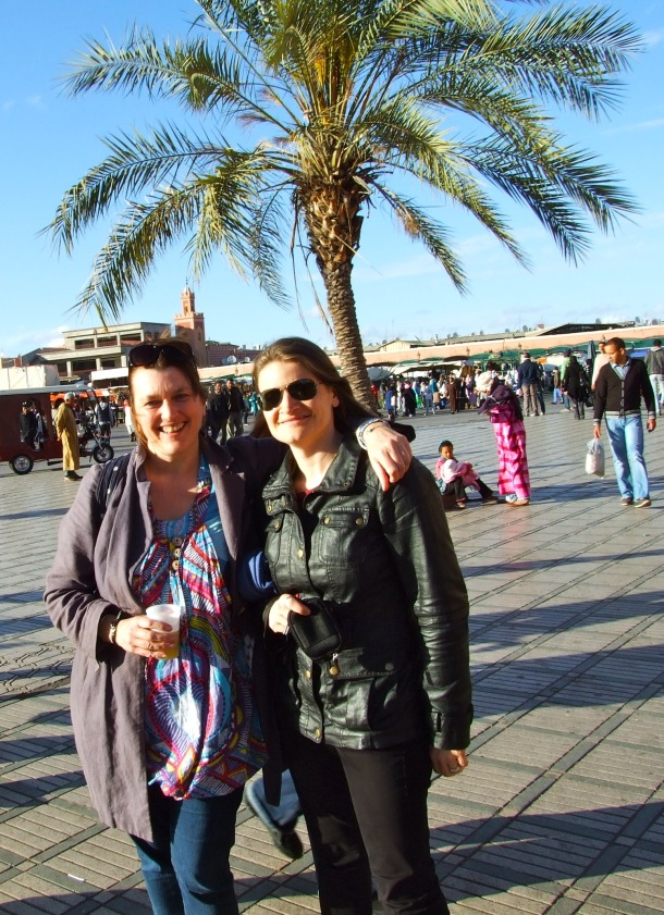 With Félice - Marakkech April 2014