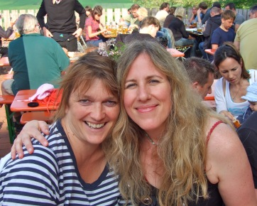 With Louise at Andechs