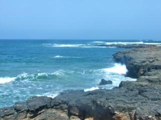 Cliffs at La Pared
