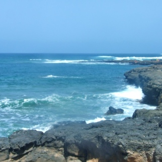 Cliffs at La Pared