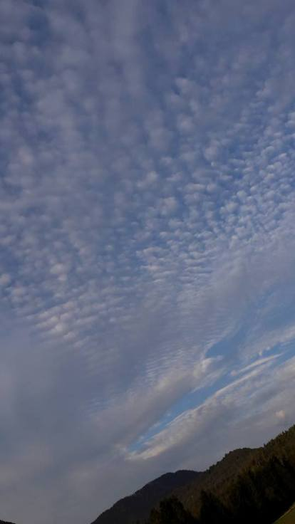 Fabulous mackerel sky