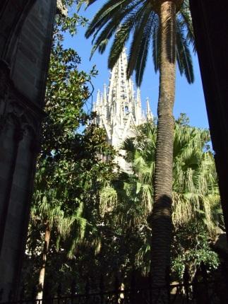 Glimpse of Sagrada Familia