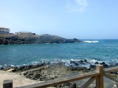 View from restaurant Corralej
