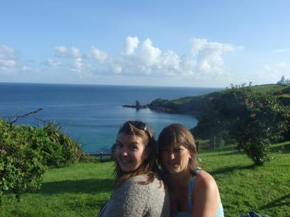 With Beth - Housel Bay.Summer 2012