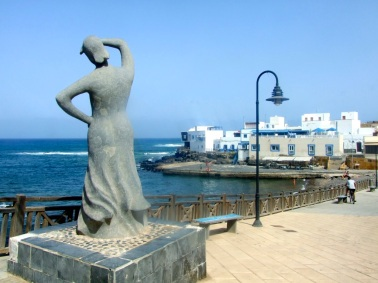 The main sea front - Corralejo