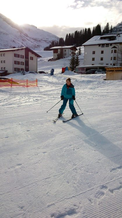 first skiing for 30 years 1599617_10202096935738367_1568823285_o