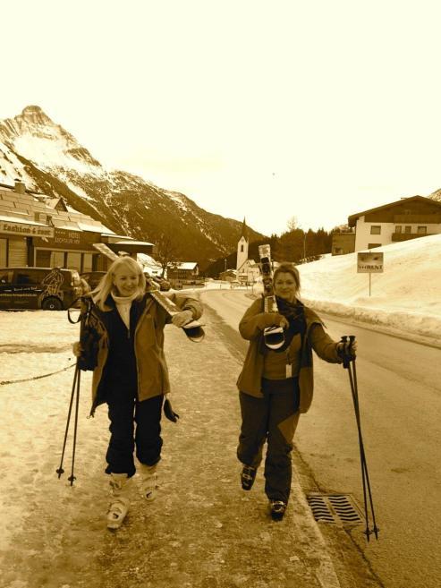 lovely black and white one Arlberg 2014