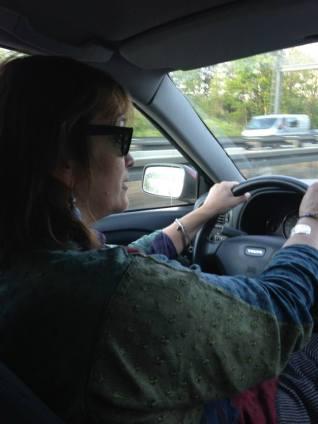 me driving Pina B May 2014