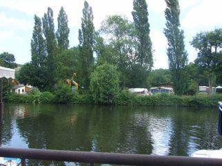 Camp site. France 2012
