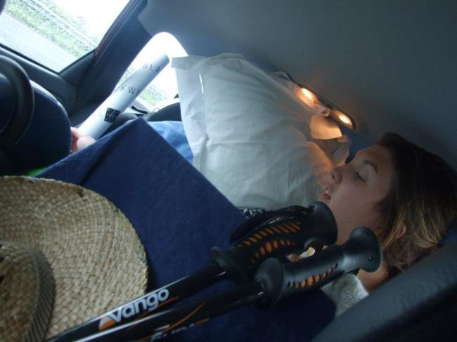 Full car. Bodmin.France 2012