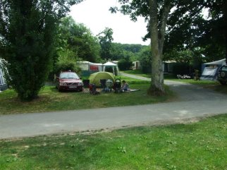 tidy camp site.France 2012