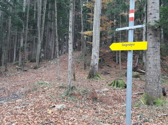 Geierstein 3 9th November 2017. Route 611 frm Lenggries