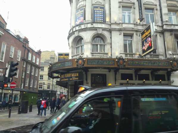Black cab and West end theatre